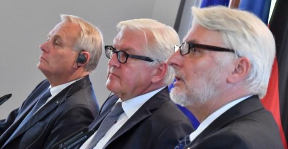 Parijs, Berlijn en Warschau willen banden aanhalen na Brexit