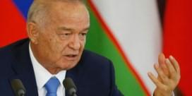 Oezbeekse president getroffen door hersenbloeding