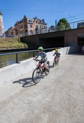 Veilig fietsen aan de Coupure.