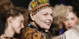 Ontwerpster Vivienne Westwood slaat aan het rappen
