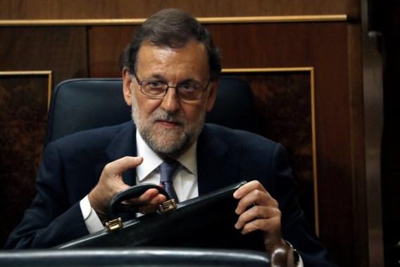 Rajoy krijgt in Spaans parlement geen groen licht voor vorming nieuwe regering