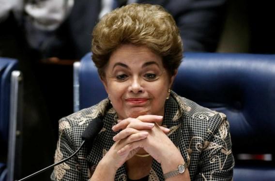 Braziliaanse presidente Dilma Rousseff afgezet door senaat