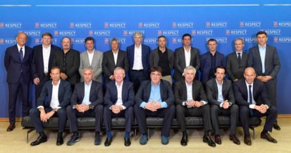 Vanhaezebrouck tussen Ferguson, Mourinho, Zidane en co op uitnodiging UEFA