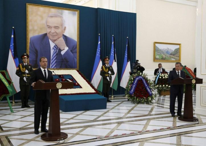 VIDEO. Staatsbegrafenis voor Oezbeekse president Karimov in geboortestad