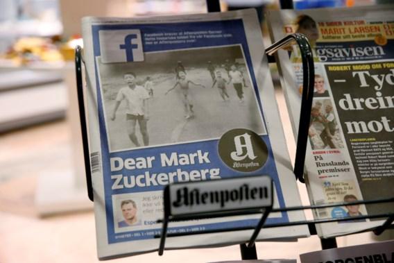 Facebook laat foto 'napalmmeisje' toch toe