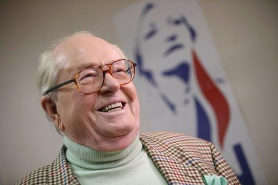Jean-Marie Le Pen financiert verkiezingscampagne van dochter Marine