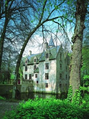 Kasteel van Beauvoorde, buiten uitgerust met een onuitgevoerd landschapsplan en binnen met een trouwe huiszwam.