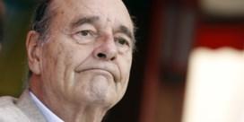 Franse oud-president Chirac in ziekenhuis met longontsteking