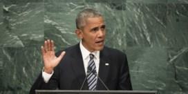 Obama: 'Stop de bezetting van Palestina'