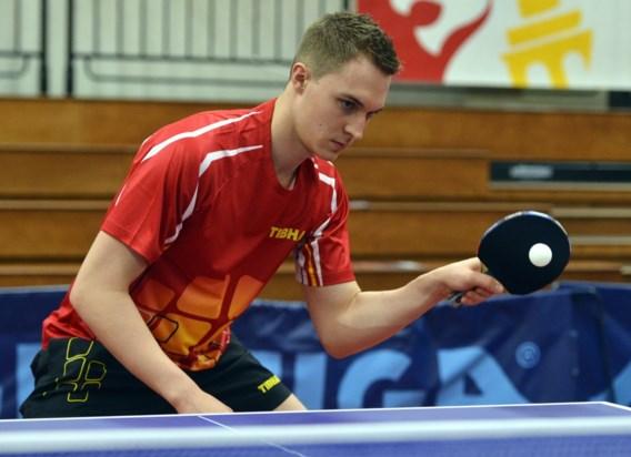 Cédric Nuytinck knokt zich naar halve finale in ITTF Belgium Open
