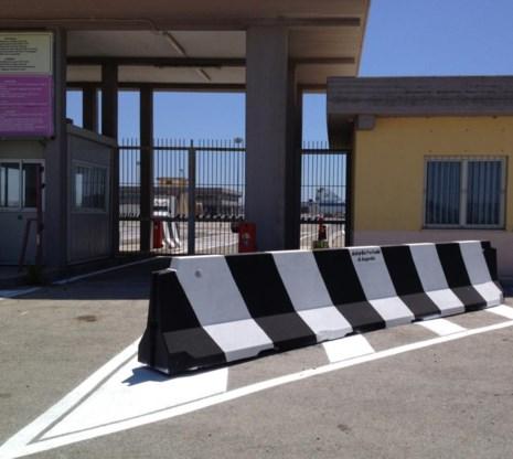 Ook in de Siciliaanse haven Augusta is het EU-geld op een koude steen gevallen.