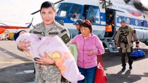 Driejarige kleuter overleeft drie dagen in Siberische wildernis
