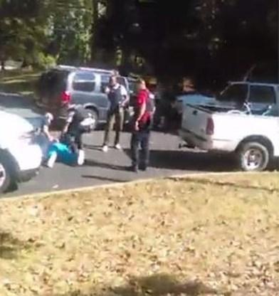Video van dodelijk politiegeweld Charlotte verschenen