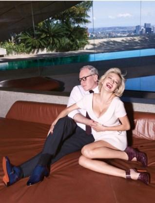 Bret Easton Ellis en Caroline Vreeland: influencers als model voor Santoni.