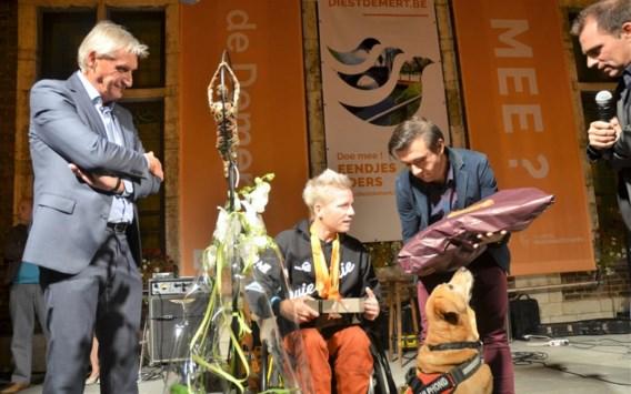 Marieke Vervoort gehuldigd voor medailles op Paralympics in Rio