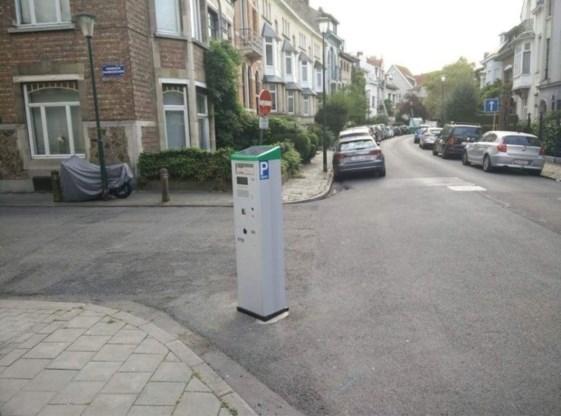 Wie heeft deze parkeermeter geplaatst?