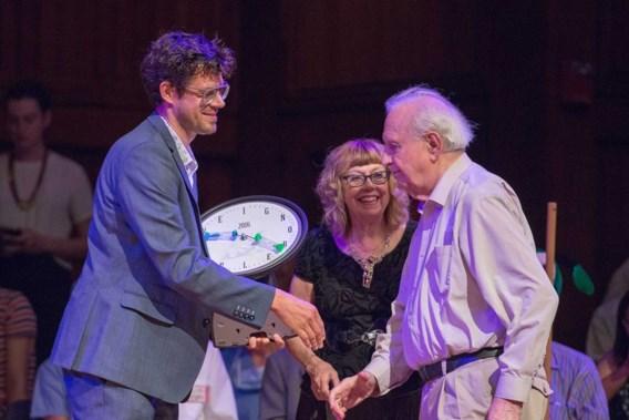 """<p>Bruno Verschuere (links), Belgisch prijsbeest. <span class=""""credit"""">Michael Benveniste</span></p>"""