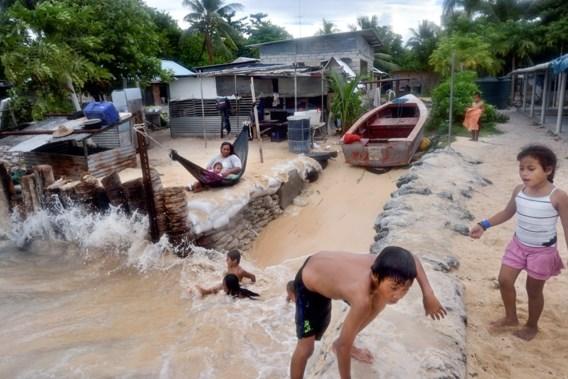 """<p>Tarawa, Kiribati. De zeespiegel stijgt, de inwoners hebben het water aan de lippen.<span class=""""credit"""">nyt</span></p>"""