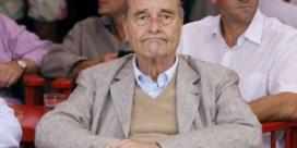 Jacques Chirac op het nippertje aan de dood ontsnapt