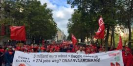 45.000 betogers volgens politie, 70.000 volgens vakbond