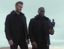 Zien: David Beckham en Kevin Hart op roadtrip voor H&M