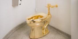 In het Guggenheimmuseum in New York staat een gouden plee. Gaat die lang mee?