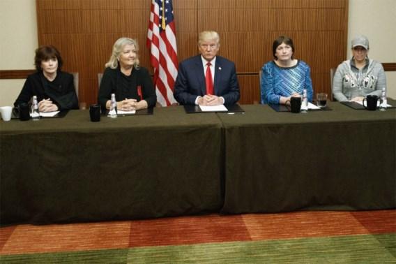 'Trump deed misschien slechte uitspraken, maar Bill Clinton heeft me verkracht'