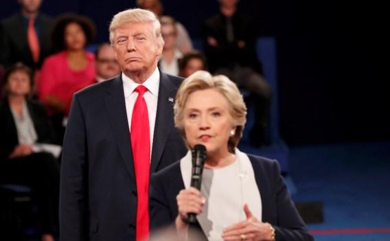 Herbekijk het debat Clinton vs. Trump