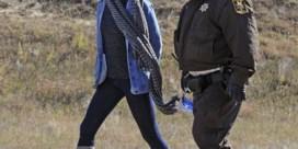 'Divergent'-actrice streamt arrestatie bij protest