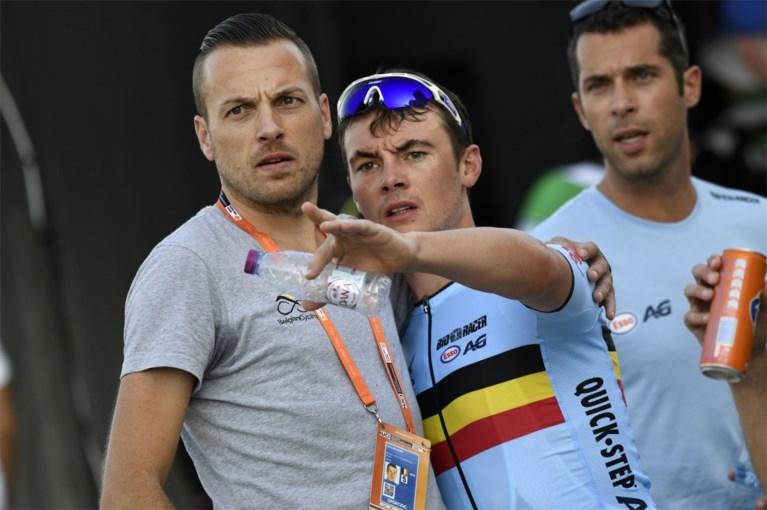 """Yves Lampaert is trots na sterke tijdrit maar... """"Ik mag nog altijd niet vieren"""""""