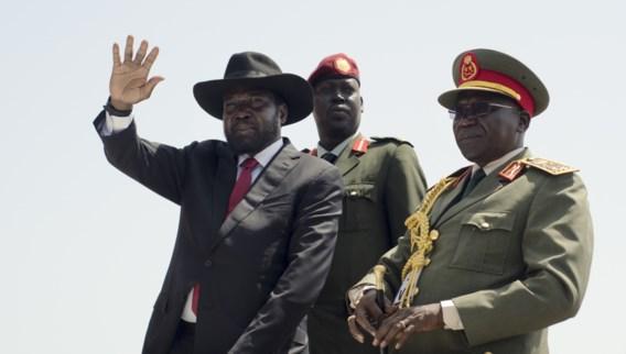 Afrikaanse leiders in pick-uptrucks