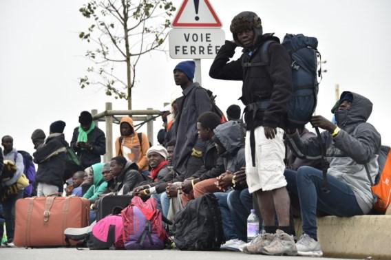 Ontruiming Jungle van Calais 'verloopt naar wens'