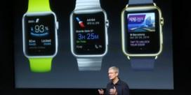 Verkoop Apple Watch crasht