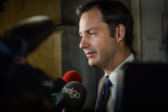 Alexander De Croo: 'Met 4 miljoen inwoners gijzel je geen 500 miljoen Europeanen'