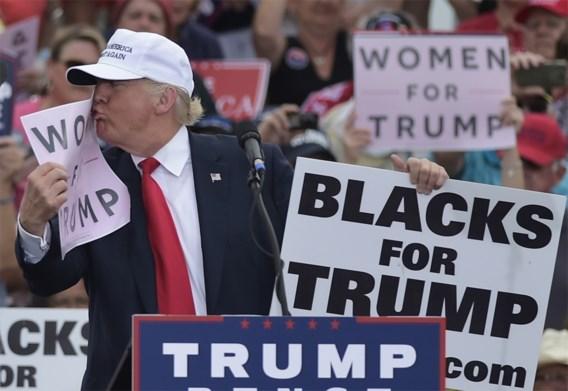 'Als Trump vrouwen haat, waarom is hij er dan met drie getrouwd?'