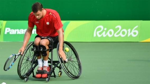 Joachim Gérard wint openingswedstrijd in dubbelspel op Masters rolstoeltennis