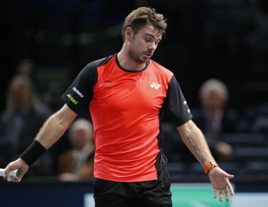 Stan Wawrinka geraakt niet voorbij tweede ronde in Parijs