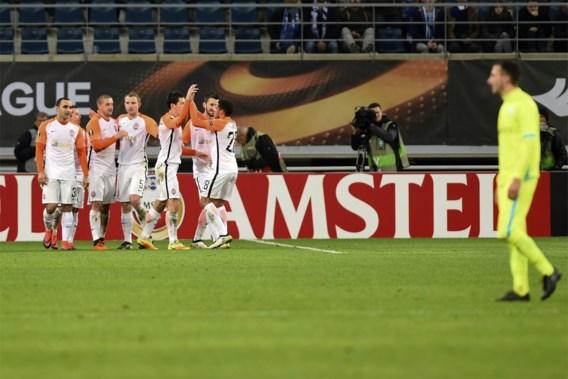 AA Gent krijgt er weer vijf om de oren na spektakelmatch tegen Shakhtar