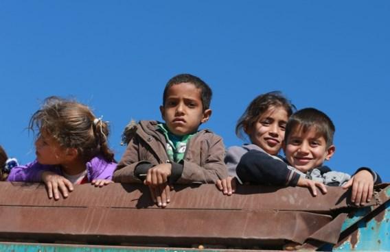 Bijna 10.000 kinderen op de vlucht uit Mosoel