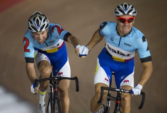 Belgische mannen realiseren vijfde tijd in reeksen ploegenachtervolging op WB baanwielrennen in Glasgow