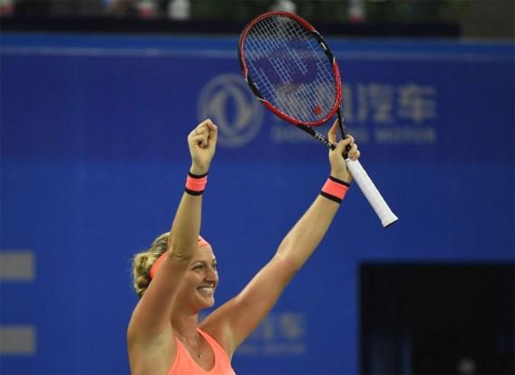 Kvitova verslaat Svitolina in finale