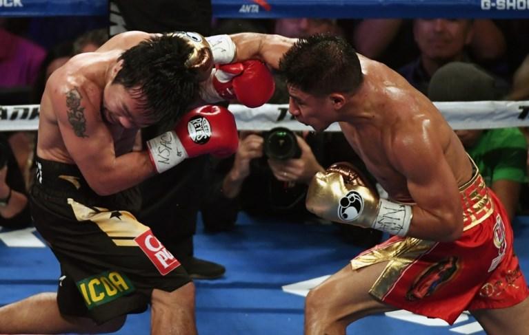 Manny Pacquiao pakt wereldtitel bij terugkeer in de ring