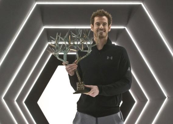 Andy Murray zet eerste plaats op wereldranglijst luister bij met zege in Parijs