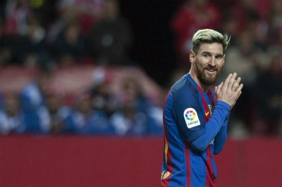 Lionel Messi scoort 500e doelpunt voor Barcelona
