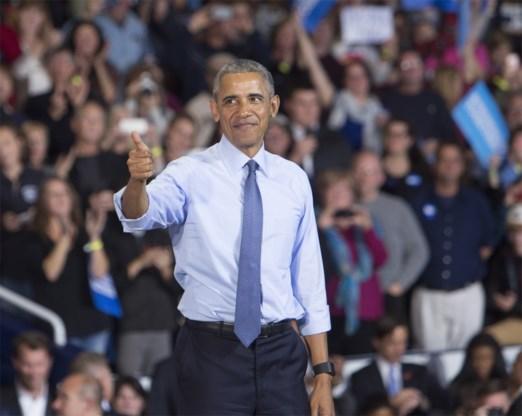 Wat doet president Obama op verkiezingsdag? Basketten