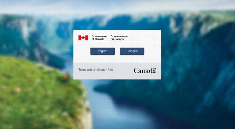 Website om naar Canada te verhuizen crasht