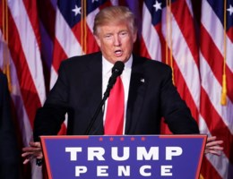 Trump: 'Ik zal president zijn van alle Amerikanen'