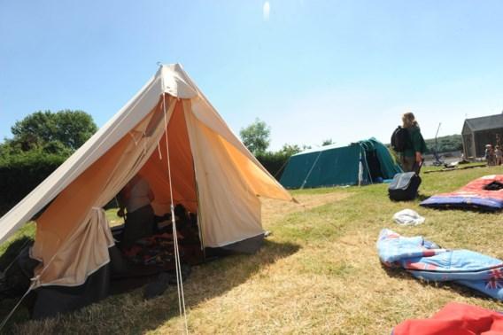 Jeugdbewegingen krijgen extra tenten ter beschikking
