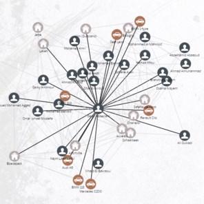 IN KAART. Het netwerk van Parijs