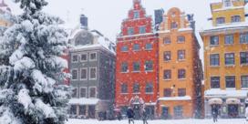 Sneeuwliefhebbers moeten naar Stockholm